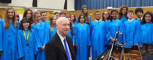 Tidings Article on St. Cyril Vocal Ensemble Organist