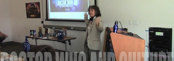 Video: Doctor Who and Culture with Dr. Rosanne Welch at Cal Poly Pomona University Library