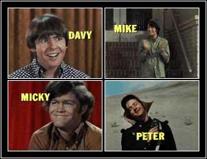 monkees-4 squares with names (1)