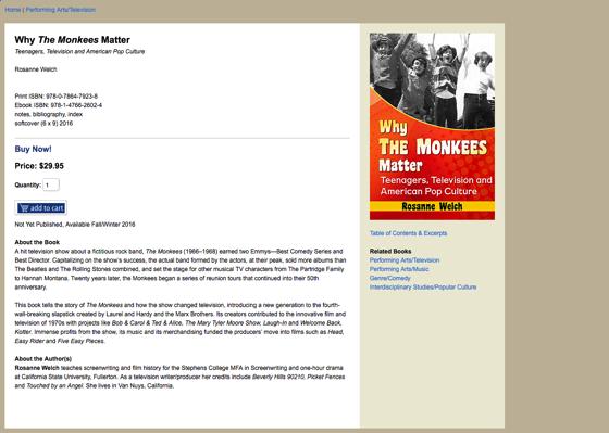 Macfarland monkees