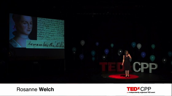 A Female Voice in the Room | Rosanne Welch | TEDxCPP [Video] (12:56)
