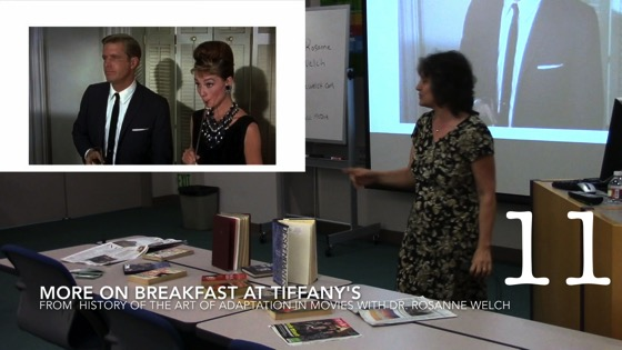 More on Breakfast at Tiffany's from A History of the Art of Adaptation