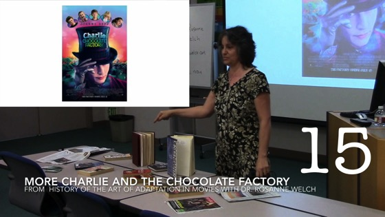 More Charlie and the Chocolate Factory from A History of the Art of Adaptation