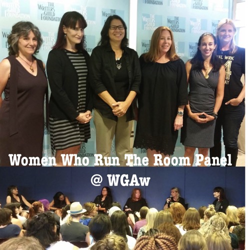Women Who Run the Room: A Conversation with Showrunners at the WGAw and co-sponsored by the Stephens MFA in Screenwriting Program [Photo]