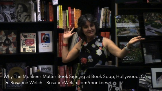Why The Monkees Matter Book Signing - Book Soup, Hollywood, CA - September 19, 2016