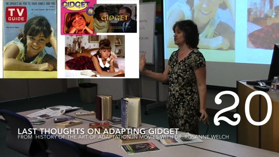 Last Thoughts on Adapting Gidget from A History of the Art of Adaptation