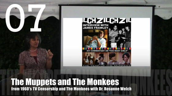 The Muppets and The Monkees from 1960's TV Censorship and The Monkees with Dr. Rosanne Welch