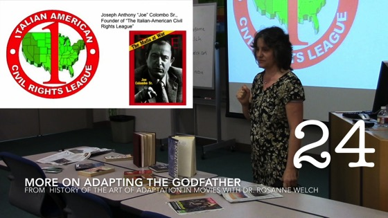 More on Adapting The Godfather from A History of the Art of Adaptation