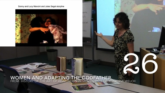 Women and Adapting The Godfather from A History of the Art of Adaptation