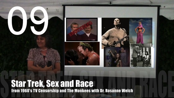 Star Trek, Sex, and Race from 1960's TV Censorship and The Monkees with Dr. Rosanne Welch [Video] (0:50)