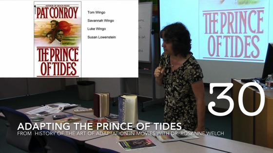Adapting The Prince of Tides from A History of the Art of Adaptation
