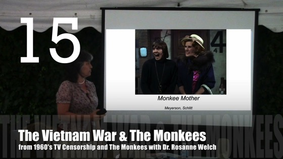 The Vietnam War and The Monkees from 1960's TV Censorship and The Monkees with Dr. Rosanne Welch