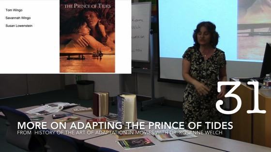 More On Adapting The Prince of Tides from A History of the Art of Adaptation