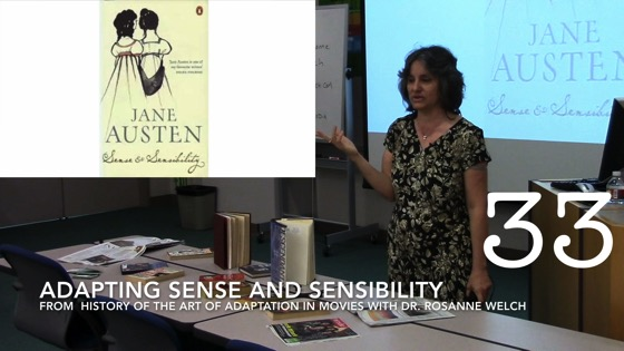 Adapting Sense and Sensibility from A History of the Art of Adaptation