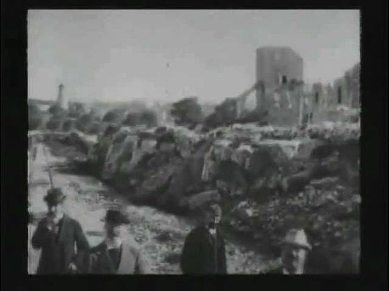 A History of Screenwriting - 8 in a series - Leaving Jerusalem by Railway (Auguste and Louis Lumiére, France, 1896)