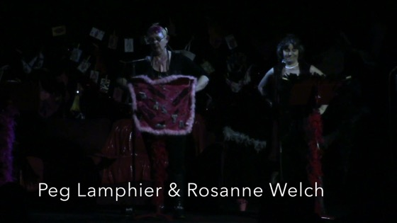 "Rosanne Welch and Peg Lamphier performing ""The Woman Who Loved to Make Vaginas Happy"" at Cal Poly Pomona [Video]"