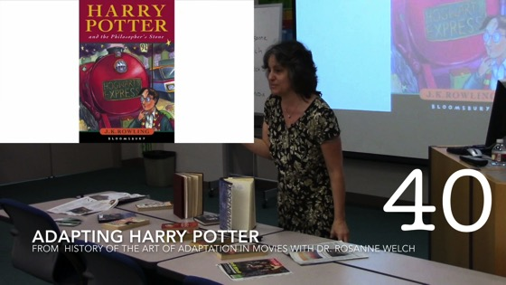 Adapting Harry Potter from A History of the Art of Adaptation