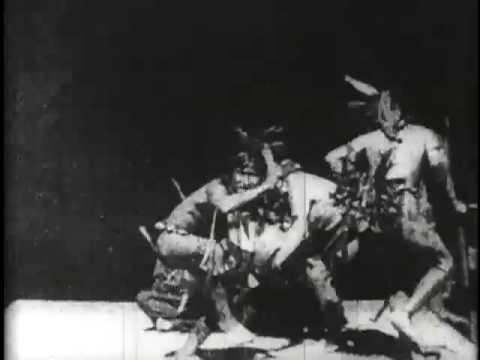 A History of Screenwriting - 14 in a series - Buffalo Dance (W. K. L. Dickson, USA, 1894)