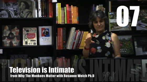Television is Intimate from Why The Monkees Matter Book Signing