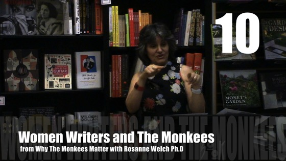 Women Writers and The Monkees from Why The Monkees Matter Book Signing