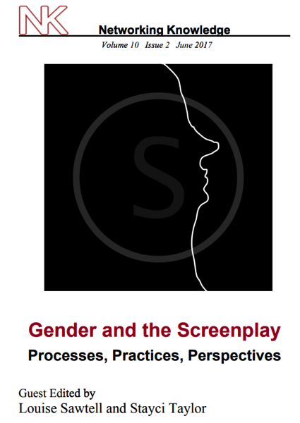 """""""Honey, You Know I Can't Hear You When You Aren't in the Room: Now free online from Gender and the Screenplay Journal"""