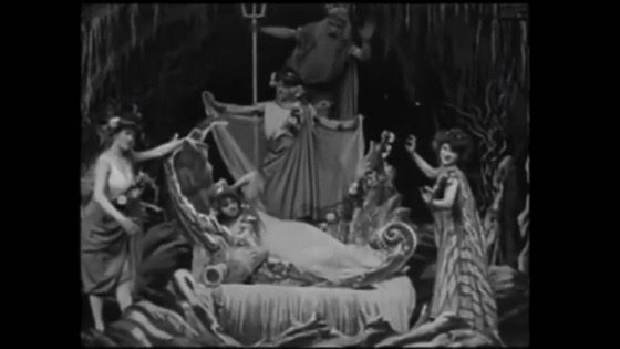 A History of Screenwriting - 27 in a series - The Mermaid , Georges Méliès (1904)