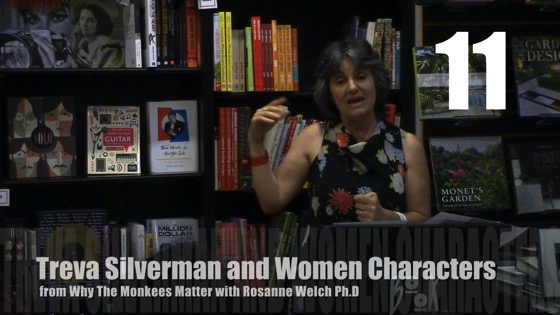 Treva Silverman and Women Characters from Why The Monkees Matter Book Signing