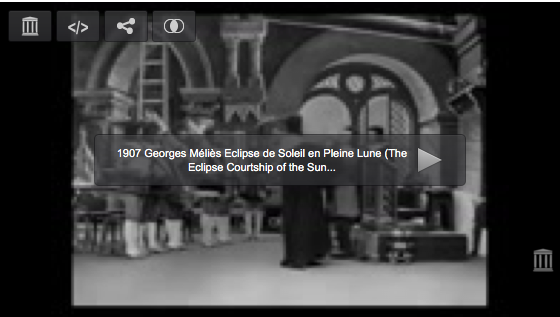 A History of Screenwriting - 30 in a series - The Eclipse: The Courtship of the Sun and Moon (George Méliès, 1905)
