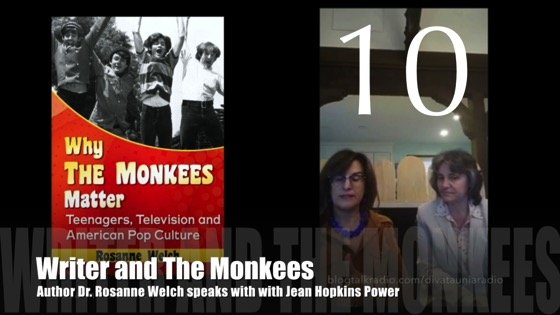 "10 : Writers and The Monkees : ""Why The Monkees Matter"" Interview with Jean Power"