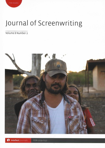 Journal screenwriting v8i2 cover