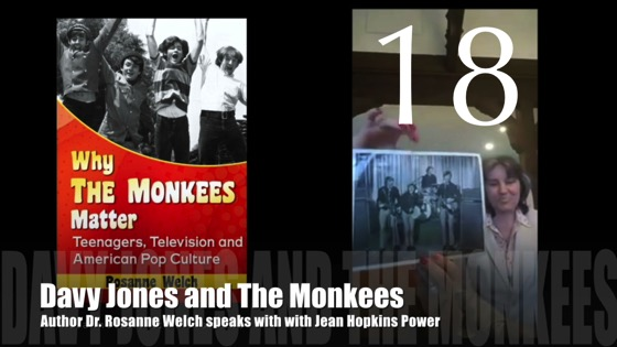 """18: Davy Jones and The Monkees : """"Why The Monkees Matter"""" Interview with Jean Power"""