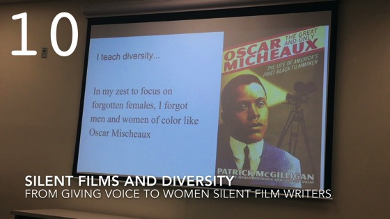 Silent Films and Diversity fromGiving Voice to Silent Films and the Far From Silent Women Who Wrote Them with Dr. Rosanne Welch [Video]