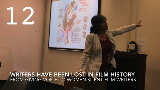 Writers Have Been Lost In Film History fromGiving Voice to Silent Films and the Far From Silent Women Who Wrote Them with Dr. Rosanne Welch [Video]
