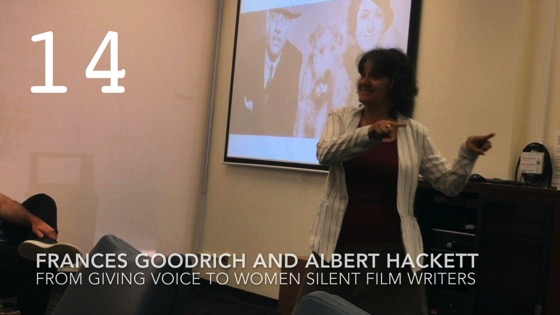 Frances Goodrich and Albert Hackett fromGiving Voice to Silent Films and the Far From Silent Women Who Wrote Them with Dr. Rosanne Welch [Video]