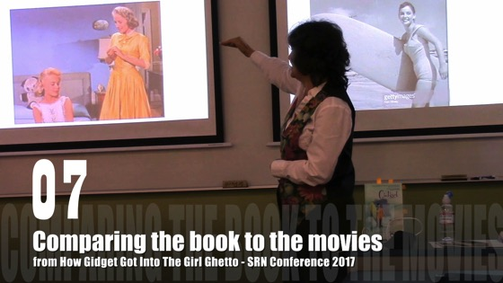 07 Comparing The Book To The Movies from How Gidget Got Into the Girl Ghetto - Dr. Rosanne Welch - SRN Conference