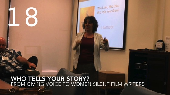 Who Tells Your Story? from Giving Voice to Silent Films and the Far From Silent Women Who Wrote Them with Dr. Rosanne Welch [Video]