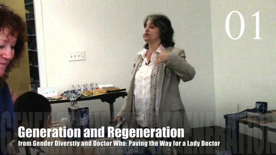 01 Generation and Regeneration from Gender Diversity in the Who-niverse with Dr. Rosanne Welch