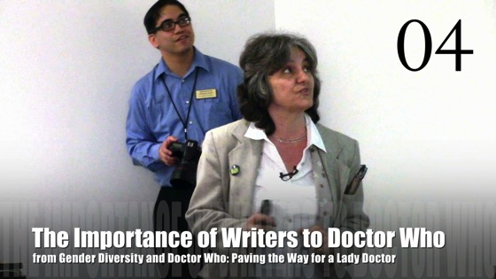 04 The Importance of Writers to Doctor Who from Gender Diversity in the Who-niverse [Video] (1:04)
