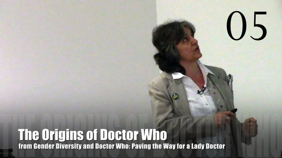 05 The Origins of Doctor Who from Gender Diversity in the Who-niverse [Video] (0:51)