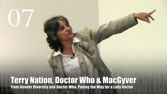 07 Terry Nation, Doctor Who and MacGyver from Gender Diversity in the Who-niverse
