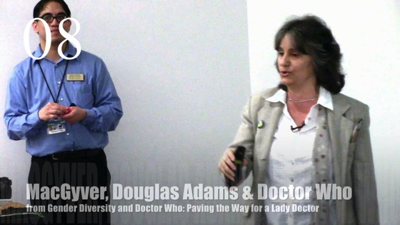 08 MacGyver, Douglas Adams and Doctor Who from Gender Diversity in the Who-niverse
