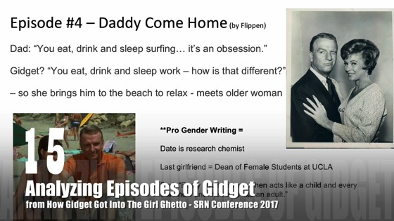 15 Analyzing Episodes of Gidget from How Gidget Got Into the Girl Ghetto with Dr. Rosanne Welch - SRN Conference 2017