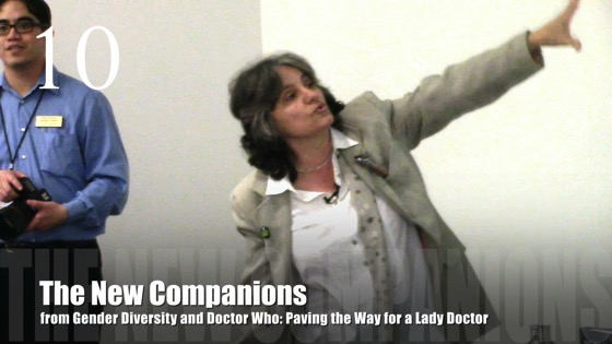 10 The New Companions from Gender Diversity in the Who-niverse