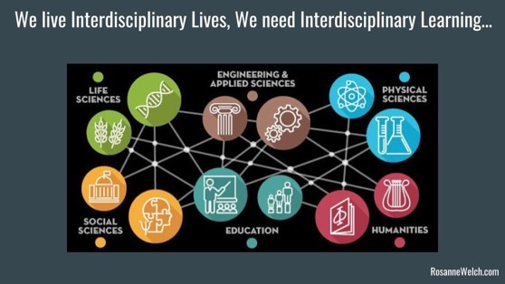 We Lead Interdisciplinary Lives. We Need Interdisciplinary Learning! - Dr. Rosanne Welch [Video] (26:32)