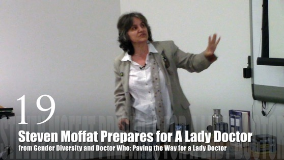 Steven Moffatt Prepares for Lady Doctor from Gender Diversity in the Who-niverse