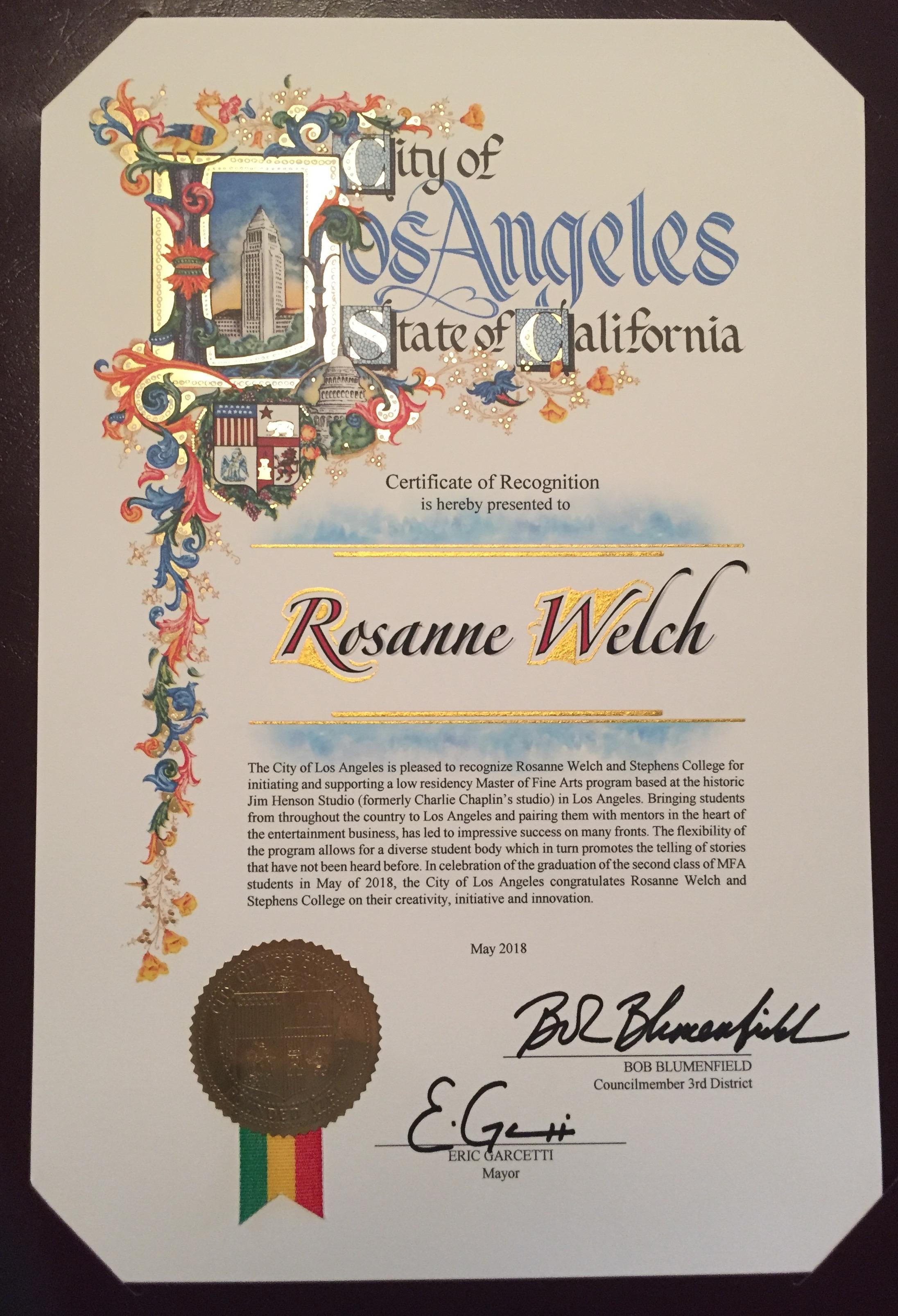 Rmw certificate