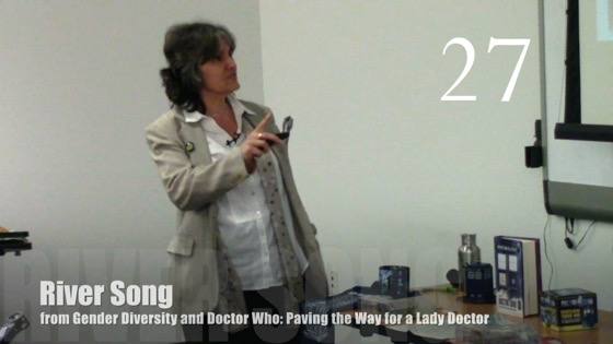 River Song from Gender Diversity in the Who-niverse [Video] (0:33)