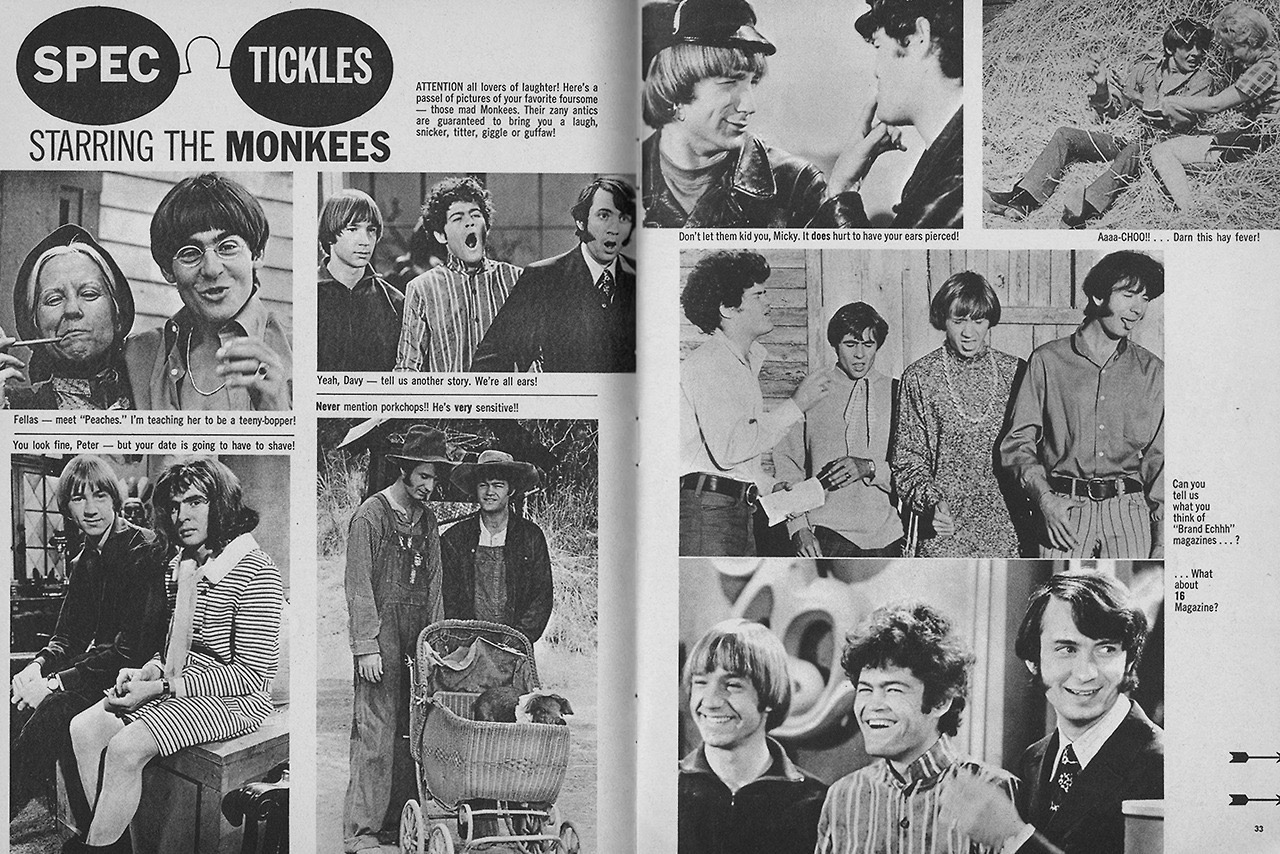 More On The Monkees: Magazine Spreads from January 1968