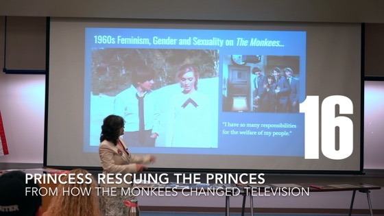 Princess Rescuing The Princes from How The Monkees Changed Television [Video] (0:54)