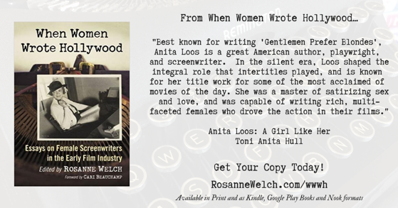 Quotes from When Women Wrote Hollywood - 5 in a series - Satirizing sex and love